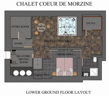 Colour Floor Plan Example Morzine