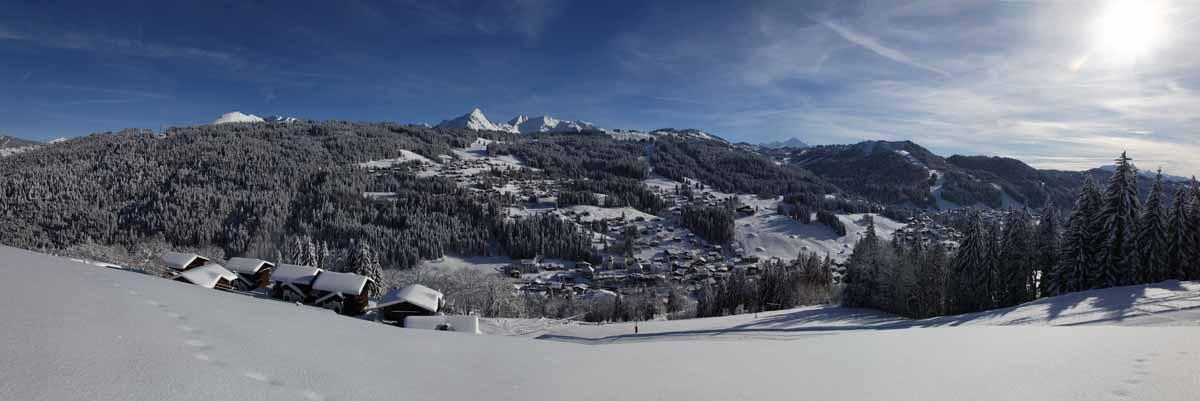 Les Gets Mont Blanc View