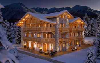 Amazing new apartment project in the alps