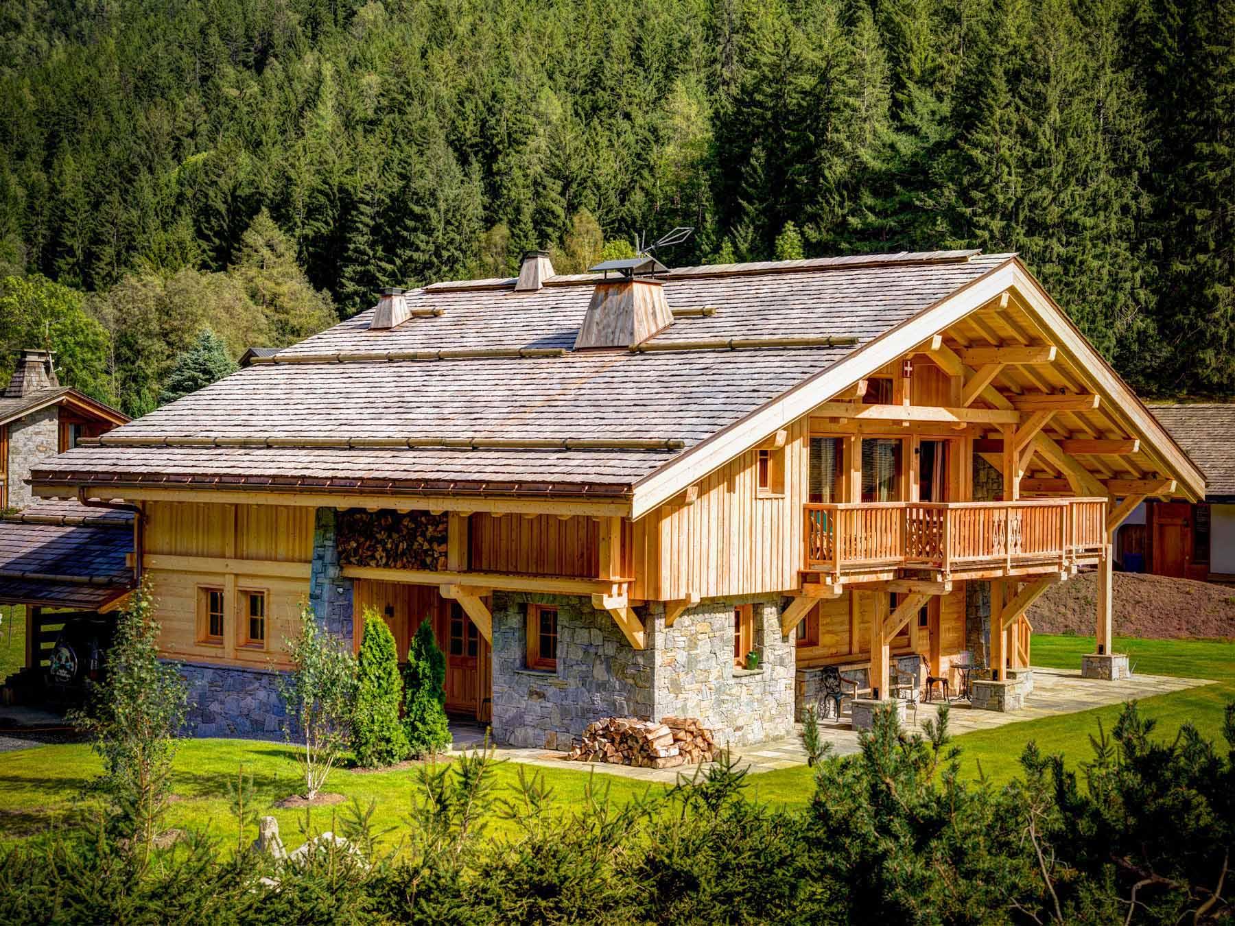 Chamonix Wooden Chalet