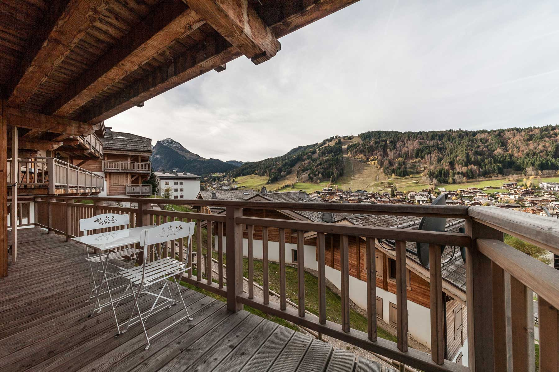 The Gallerie Morzine View Summer