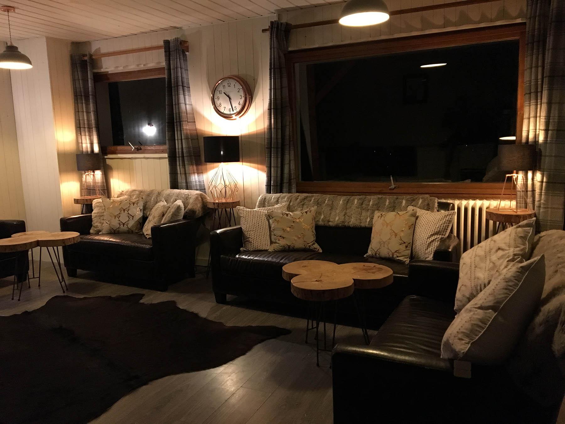 Renardiere Hotel Living Room