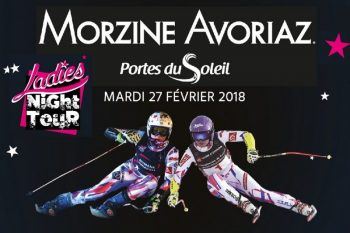 Ski Race in Morzine