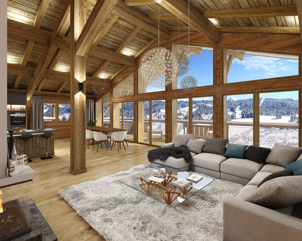 Premiere Lodge Artist impression lounge