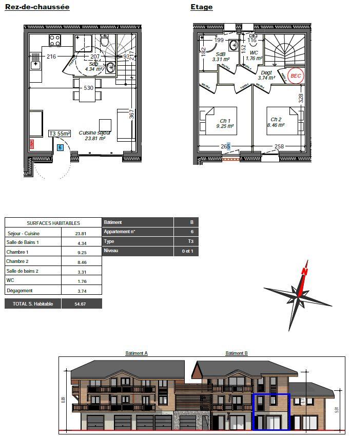 Herens flat 6 floor layout plan
