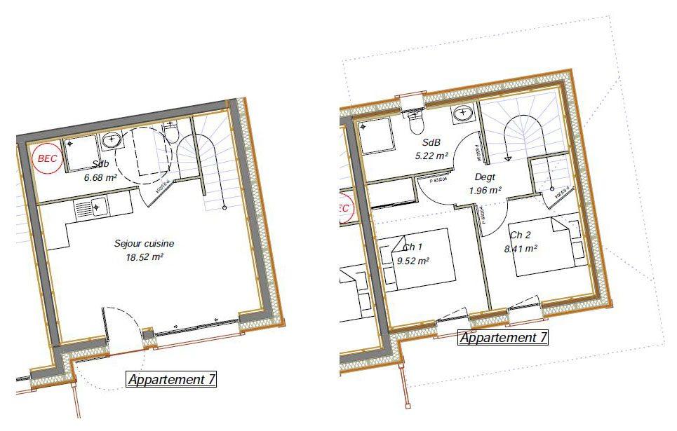 Herens Apartment 7 Floor layout plan