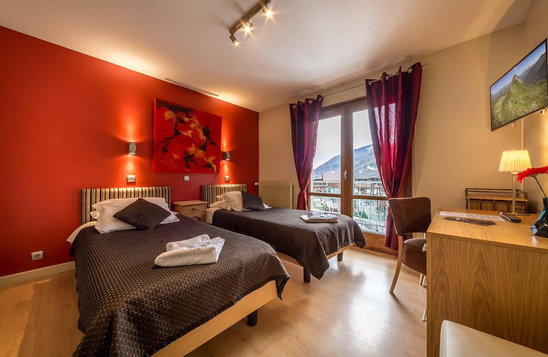 Rhodos Hotel Twin Bedroom
