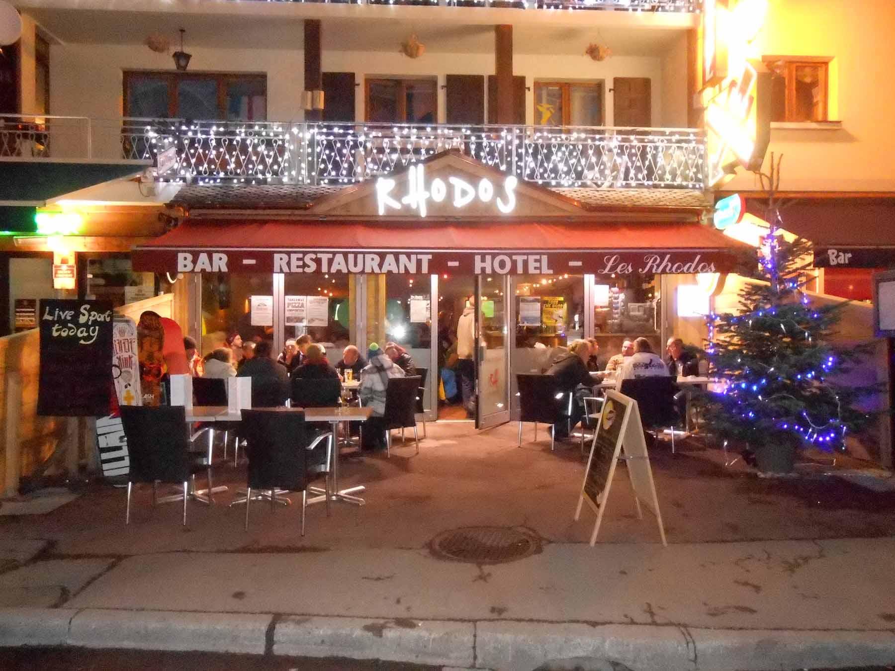 Rhodos Hotel Exterior