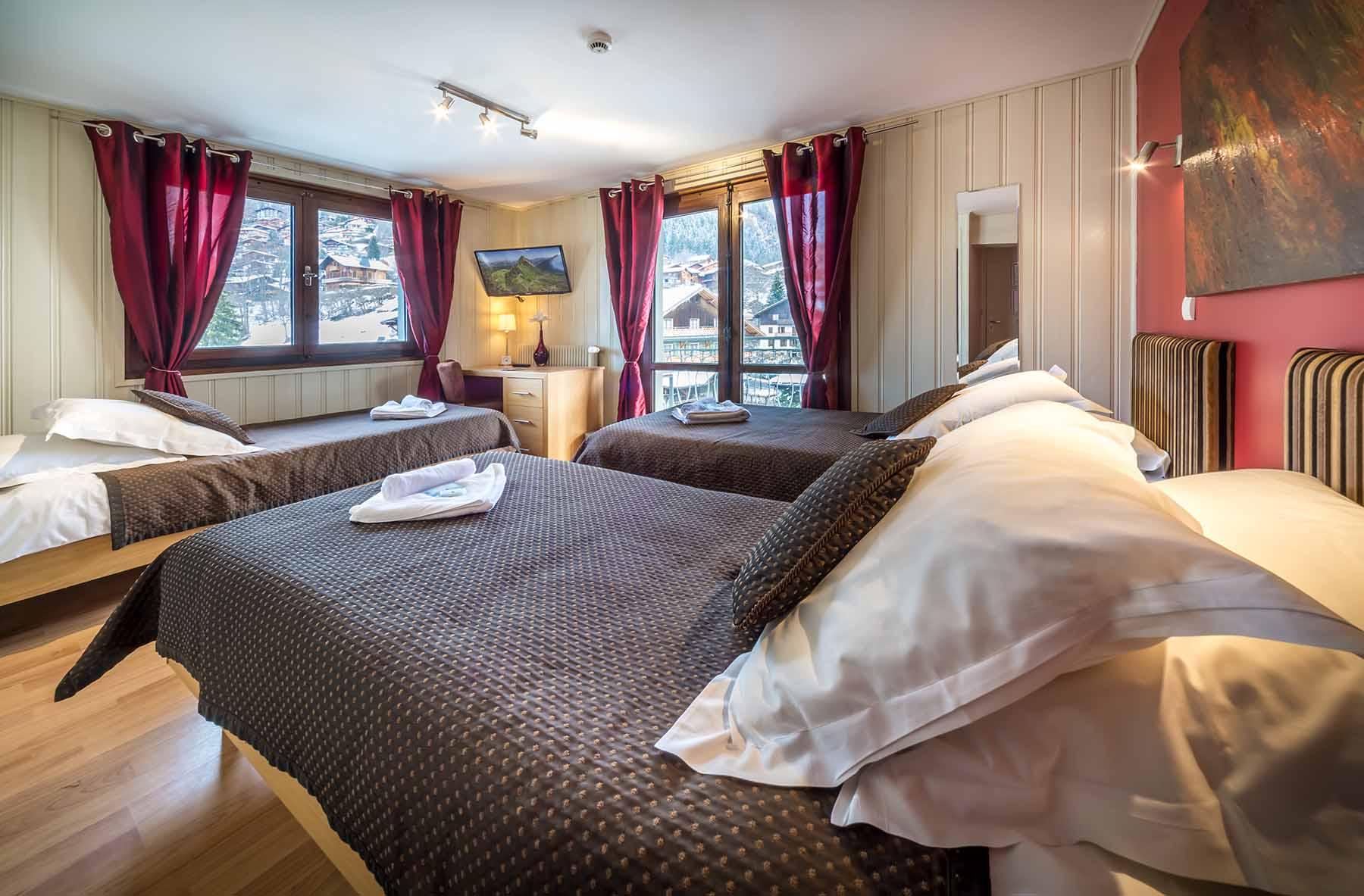 Rhodos Hotel Family Bedroom