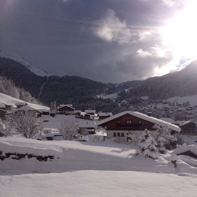 Chalet Cordee Winter View