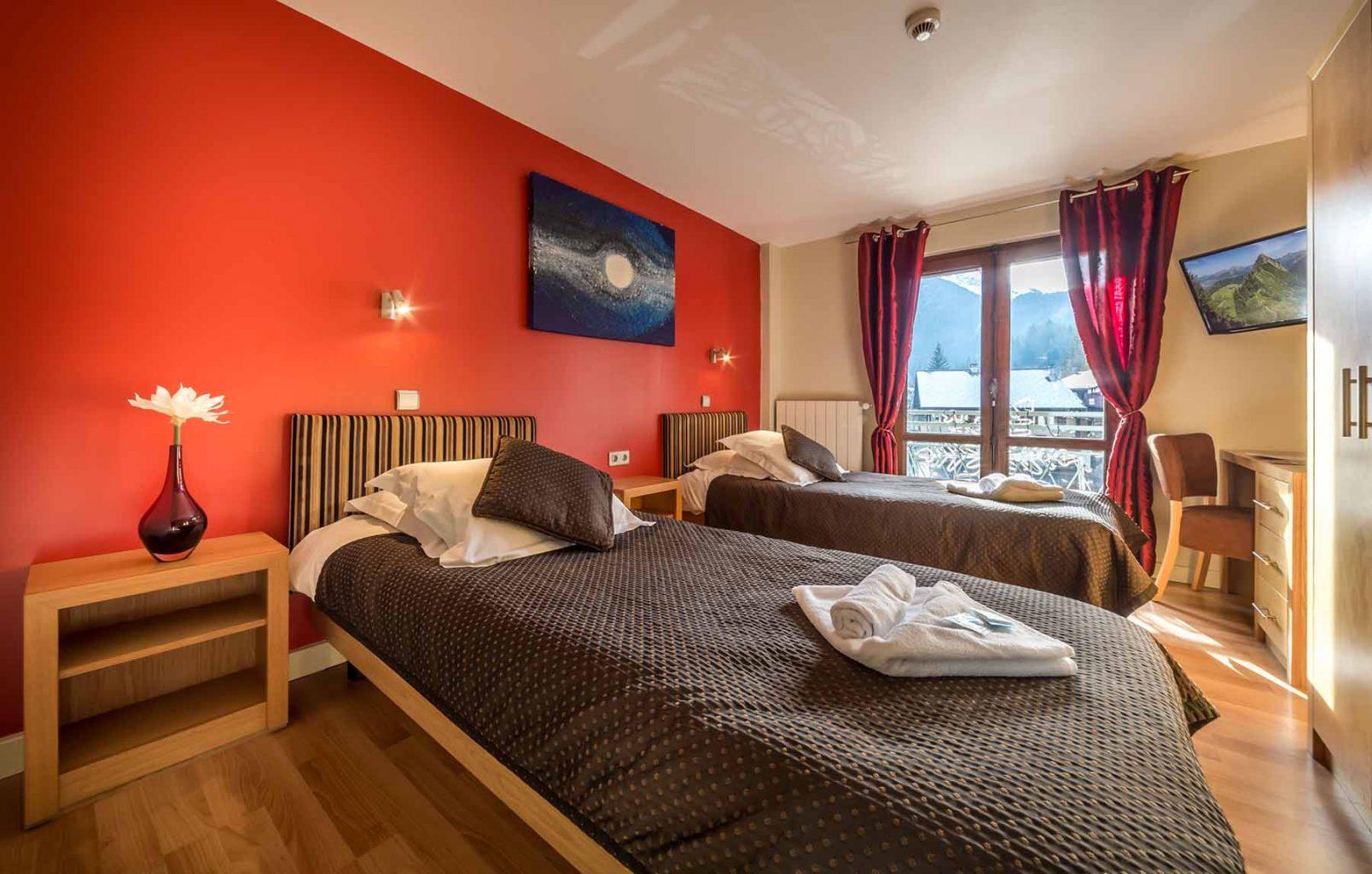 Rhodos Hotel Bedroom