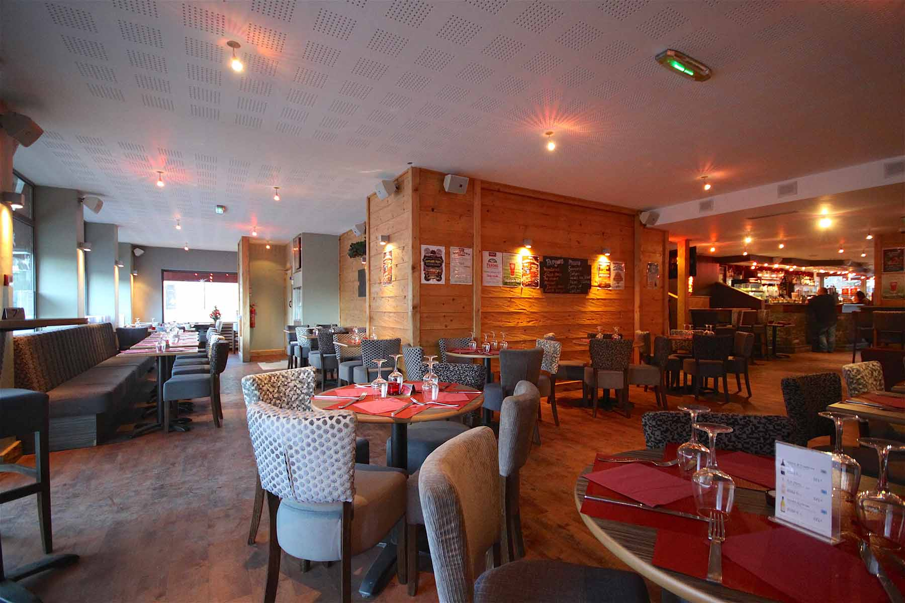 Rhodos Hotel Bar Tables