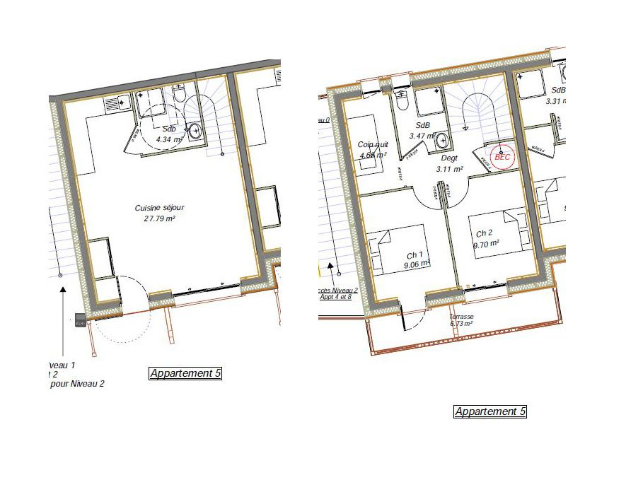 Herens apartment 5 layout