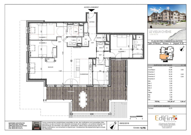 Vieux Chene Appt 32 Floor Plan