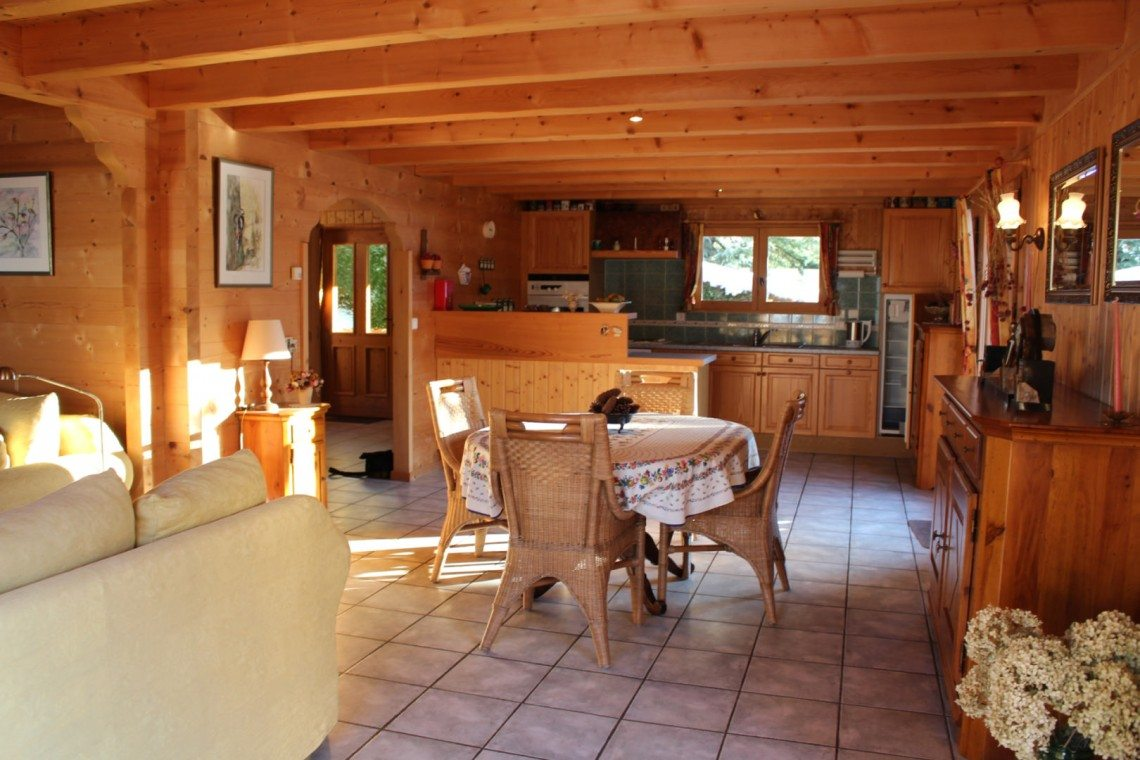 Biot Chalet Open Plan Dining Room