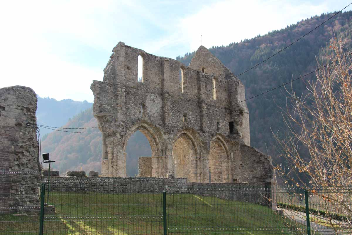 St Jean d'Aulps Abbey