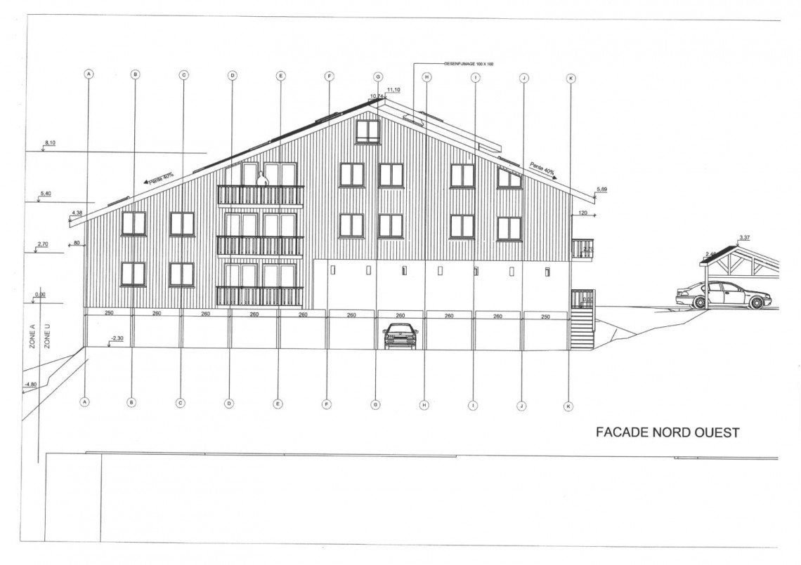 Giles shell Apartment Elevation