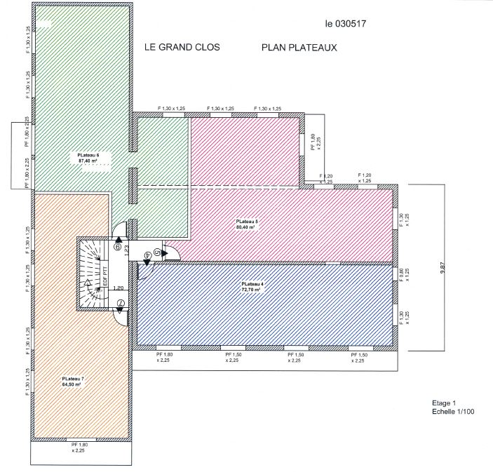 First Floor Shell Apartment To Renovate, For Sale, St Jean