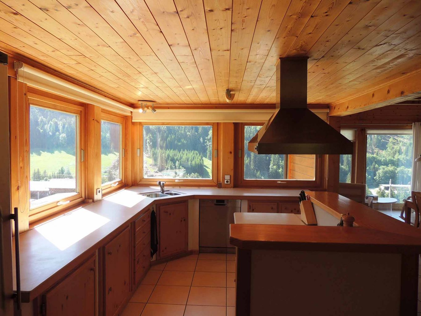 Perrier Chalet Kitchen