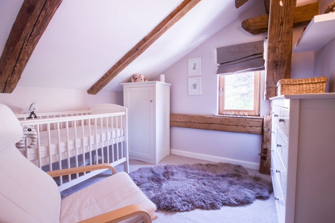 Seytroux Farm Baby Bedroom