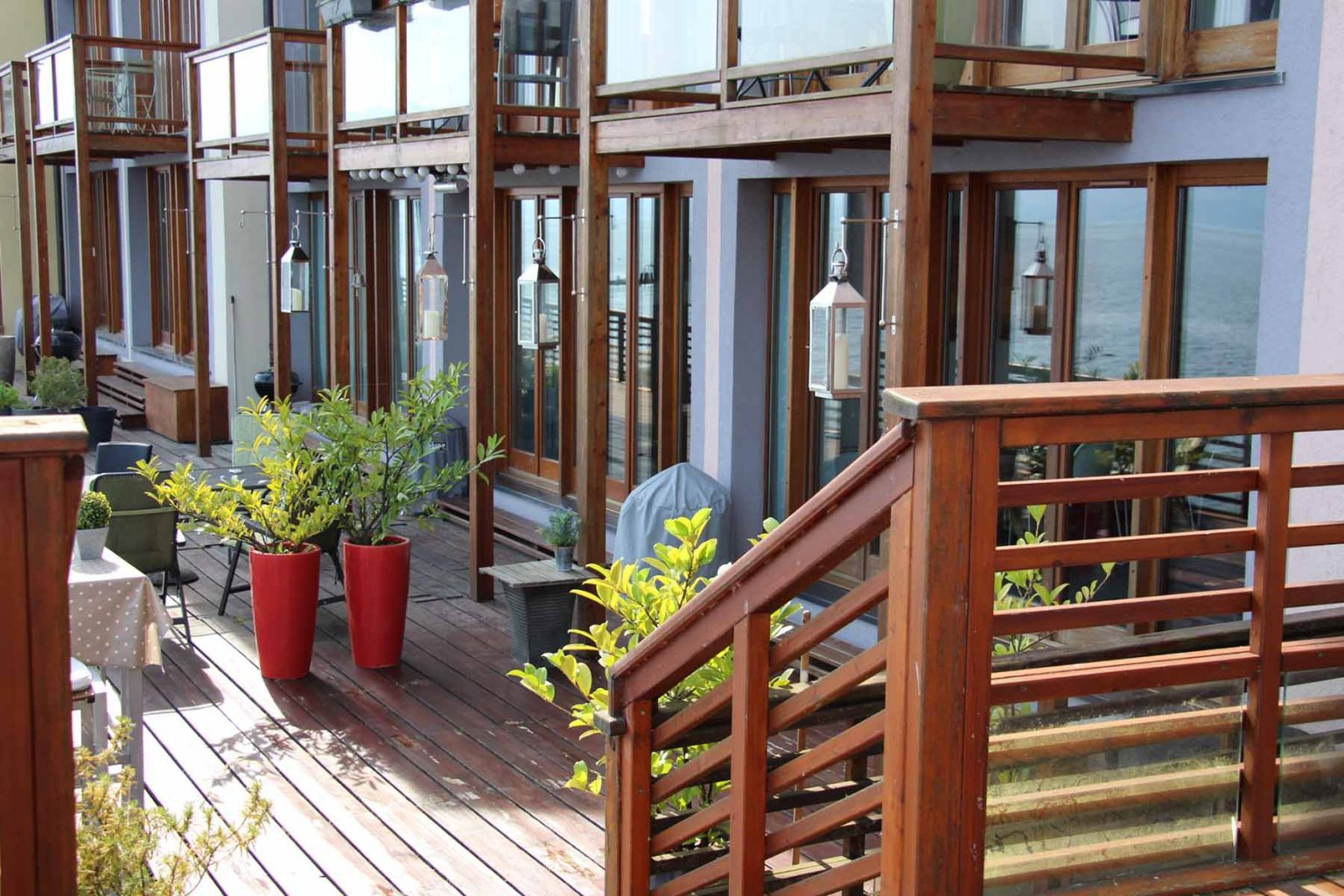 Meillerie Villa Decking Area