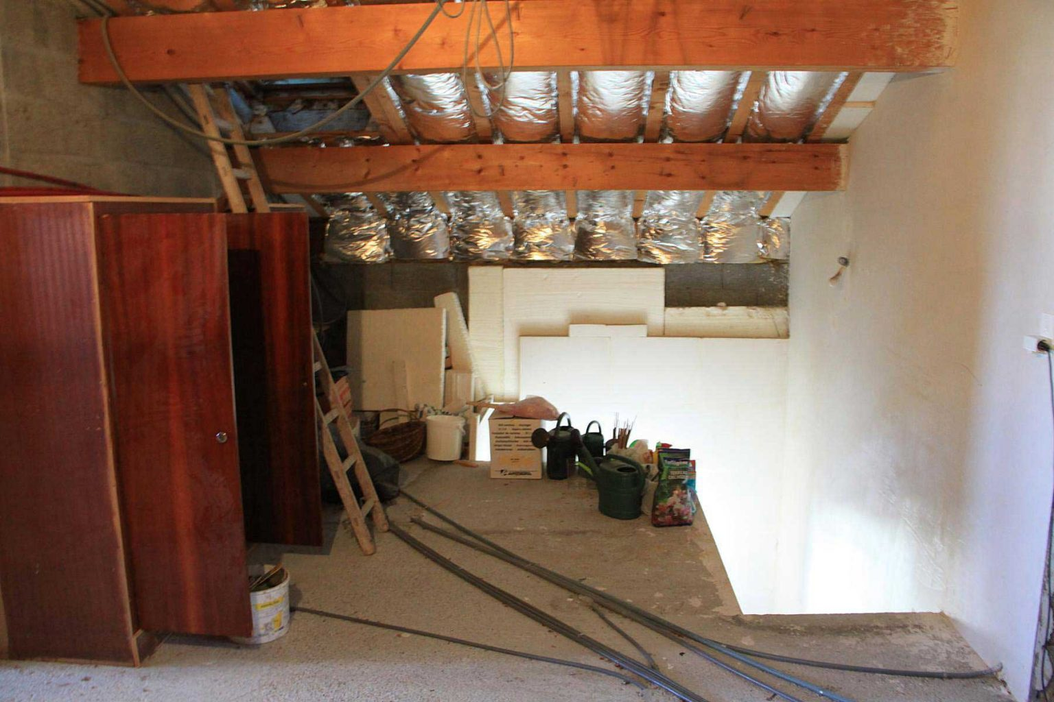 Chemin Clos Chalet Attic to Renovate