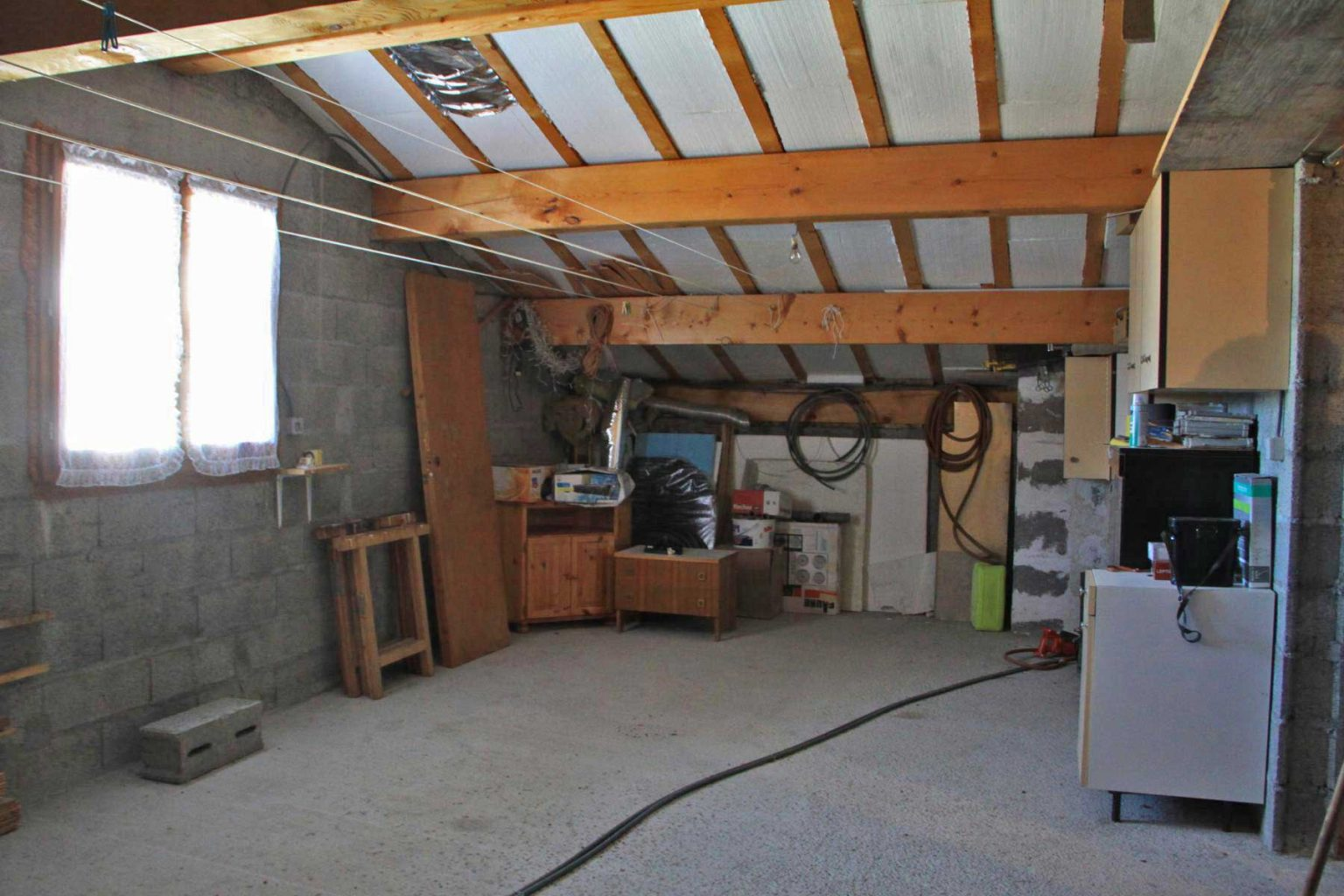Chemin Clos Chalet Attic to develop
