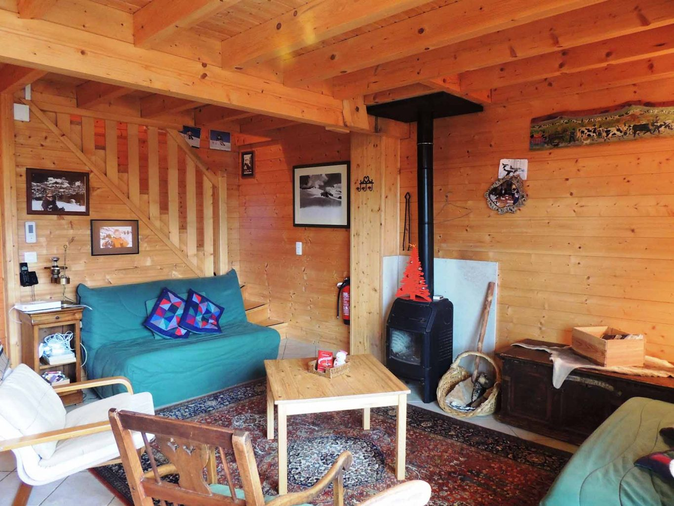 Mont Chery Chalet Sitting Room