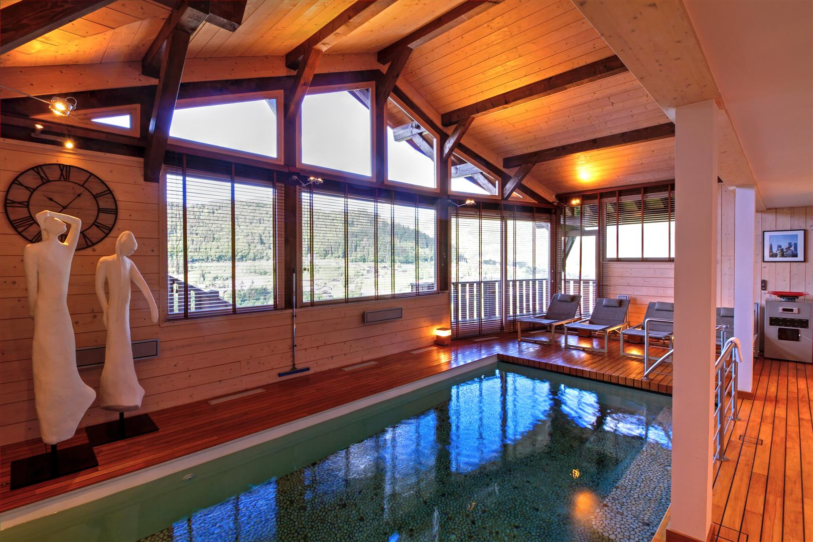 Chalet Haute Montriond Swimming Pool