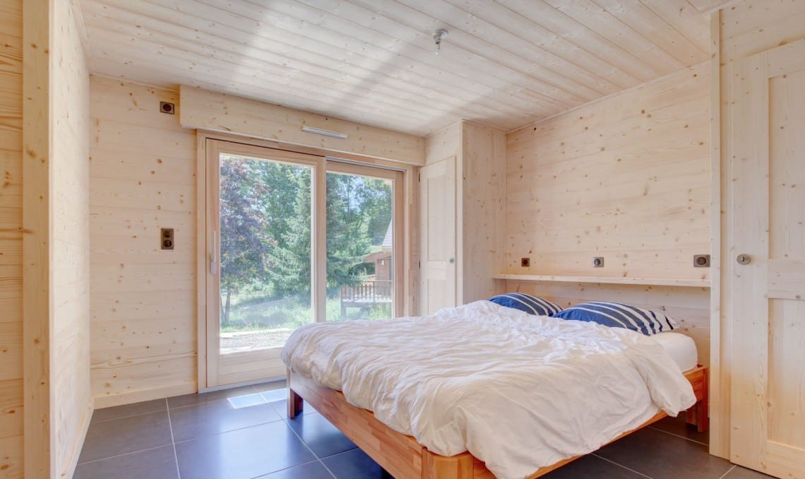 SJ Dutruel semi chalet build Bedroom