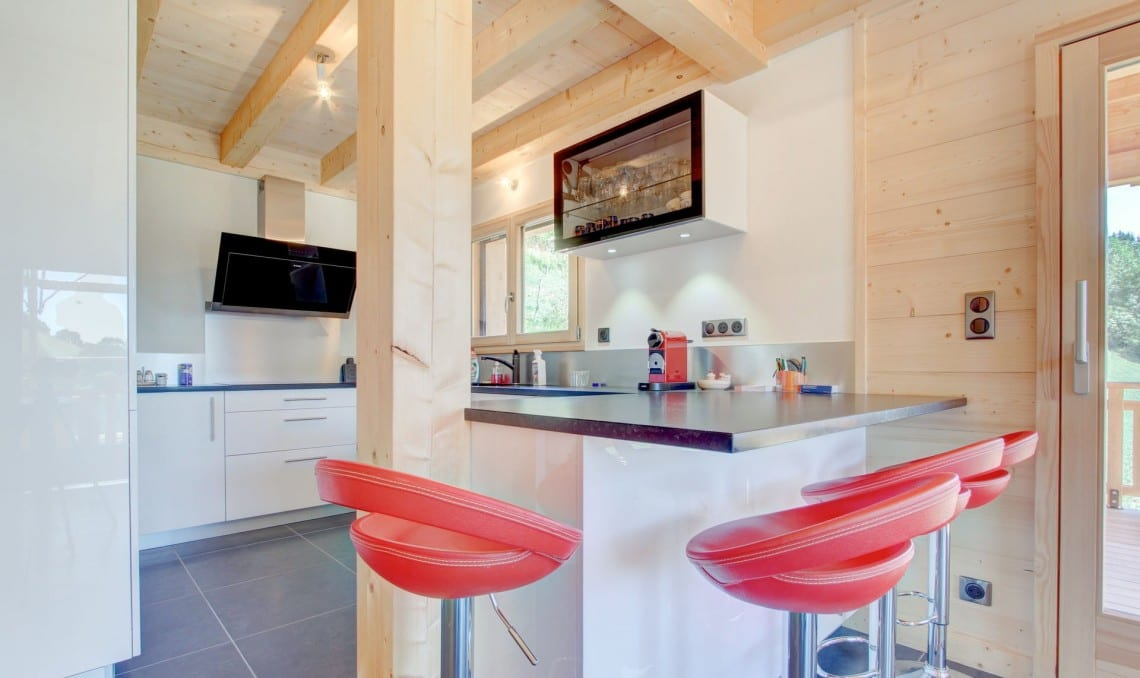 SJ Dutruel semi chalet build Kitchen