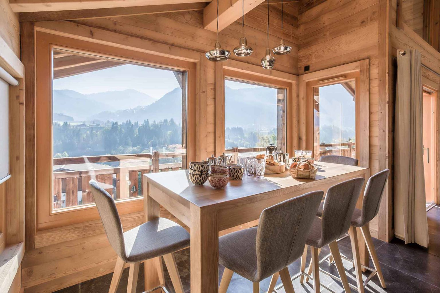 Chalet Duc Dining Room