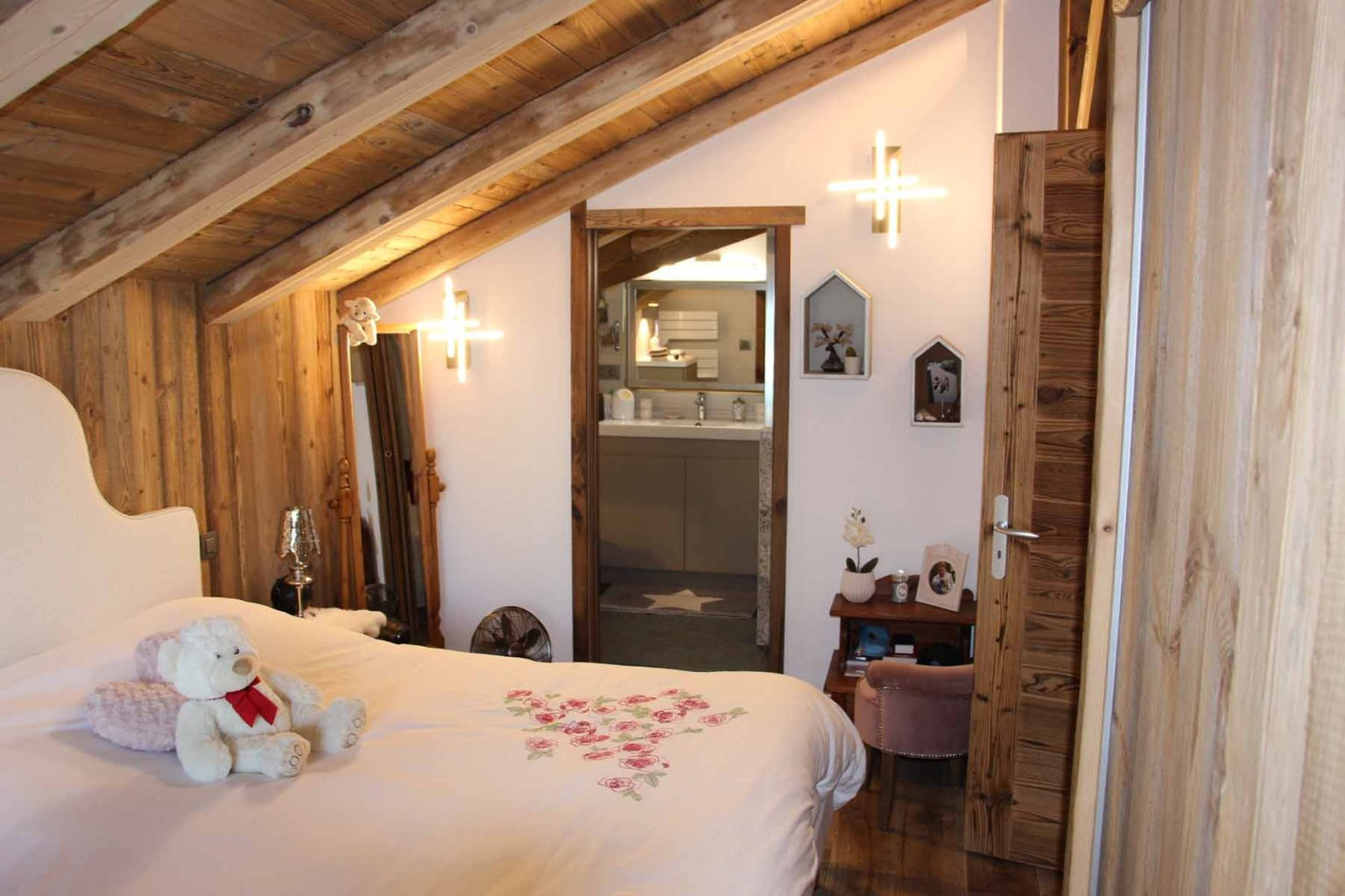 Chalet Vanchouke En-suite bedroom