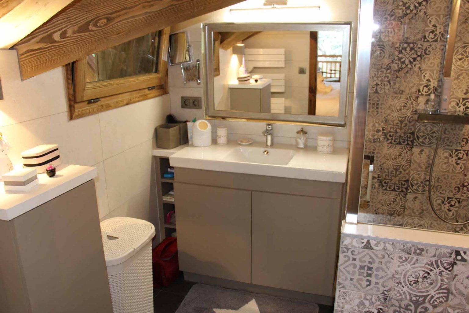 Chalet Vanchouke en-suite shower room