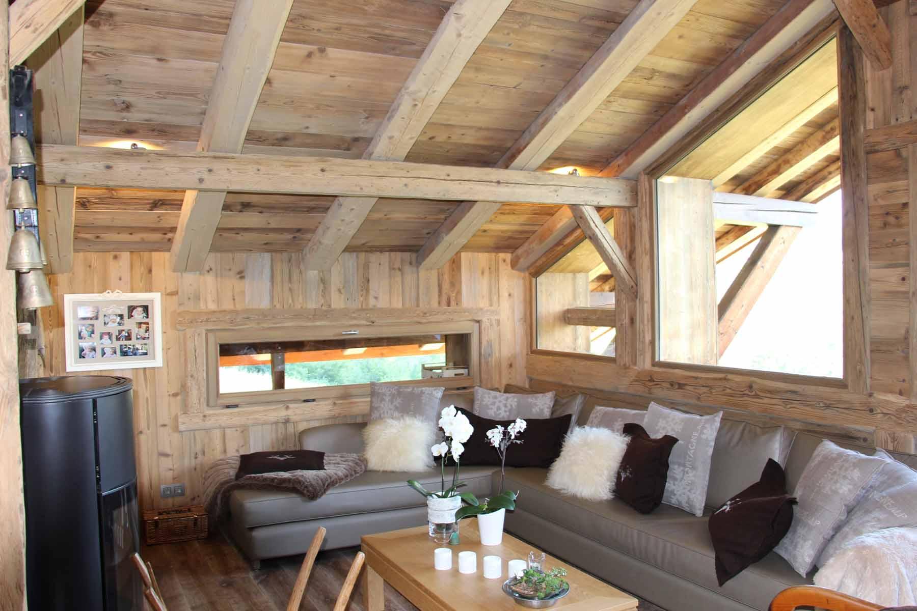 Chalet Vanchouke Sitting Room