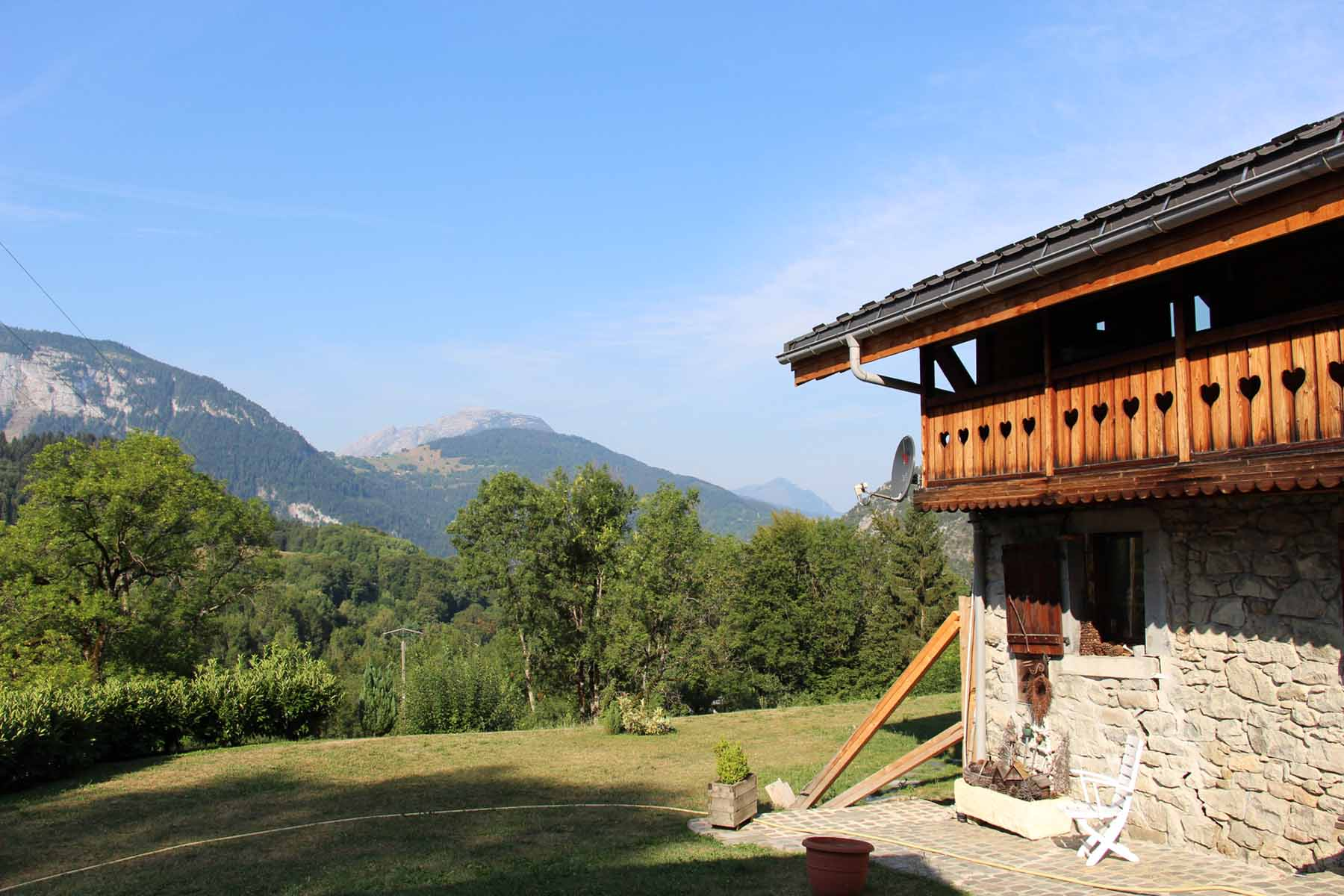 Chalet Vanchouke Chalet with view