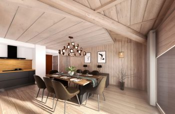 Vieux Chene Penthouse Dining Room