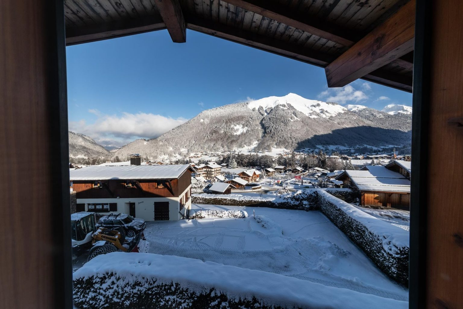 Chalet Transhumance Balcony View