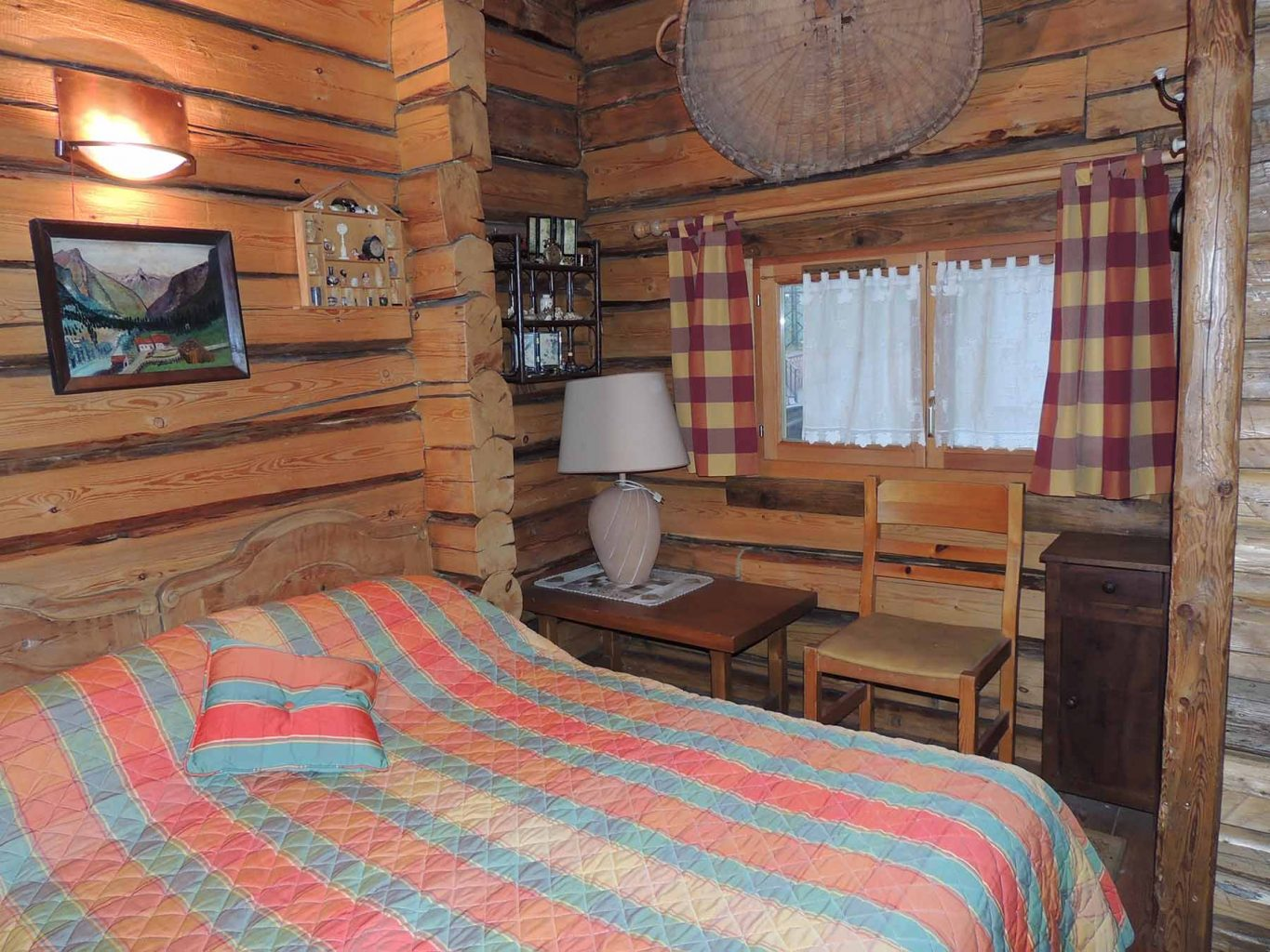 Russian Chalet Double Bedroom