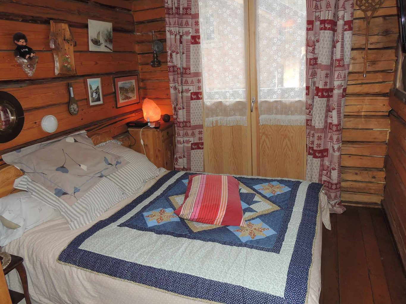 Russian Chalet Bedroom
