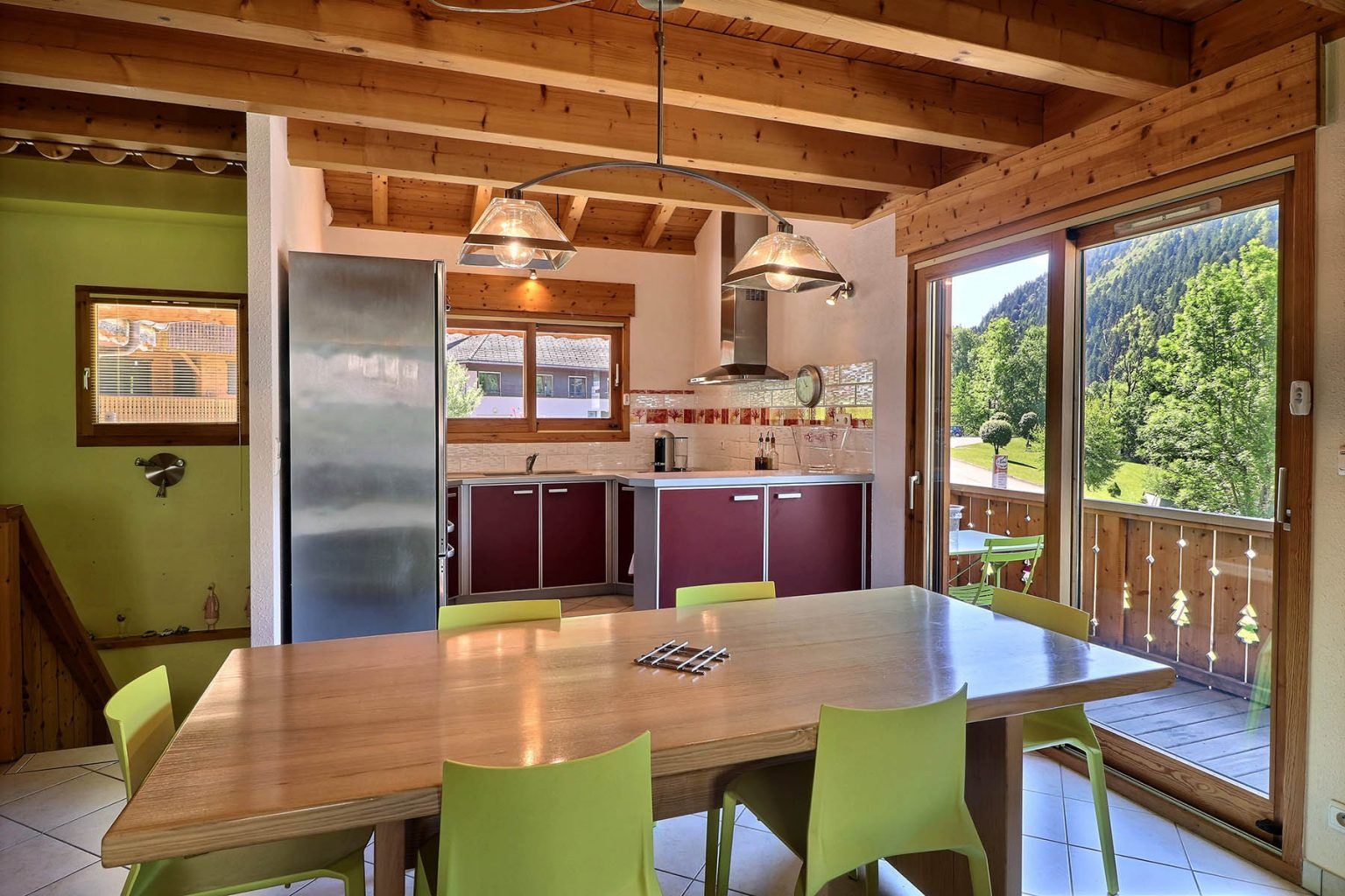 Chalet Gauthier DIning Room