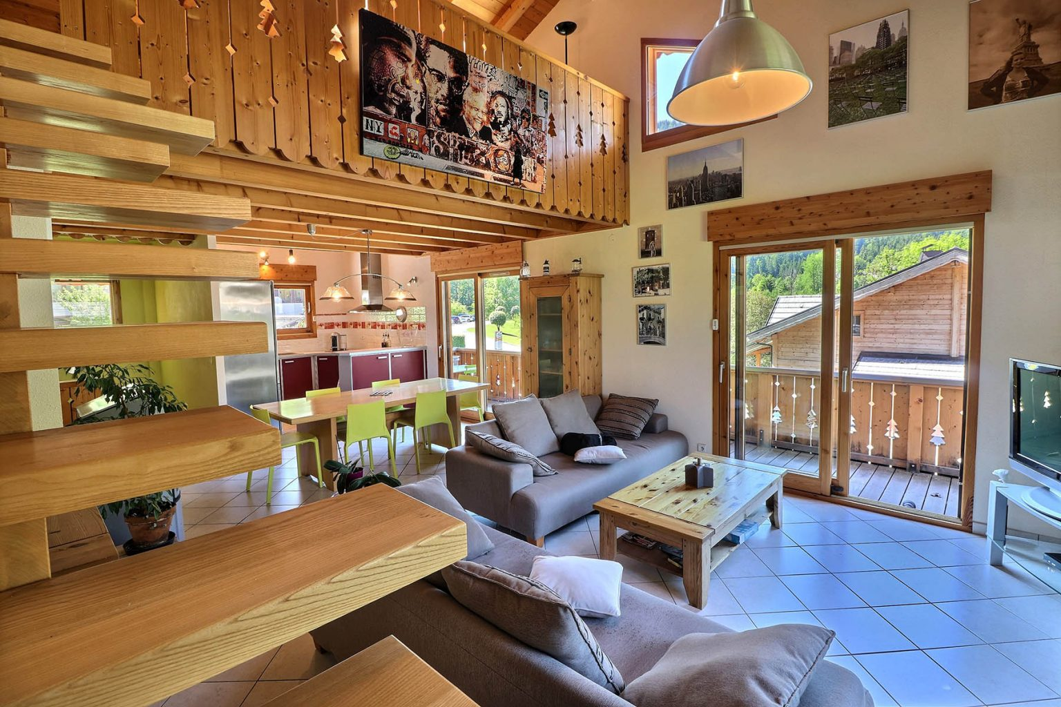 Chalet Gauthier Living Room