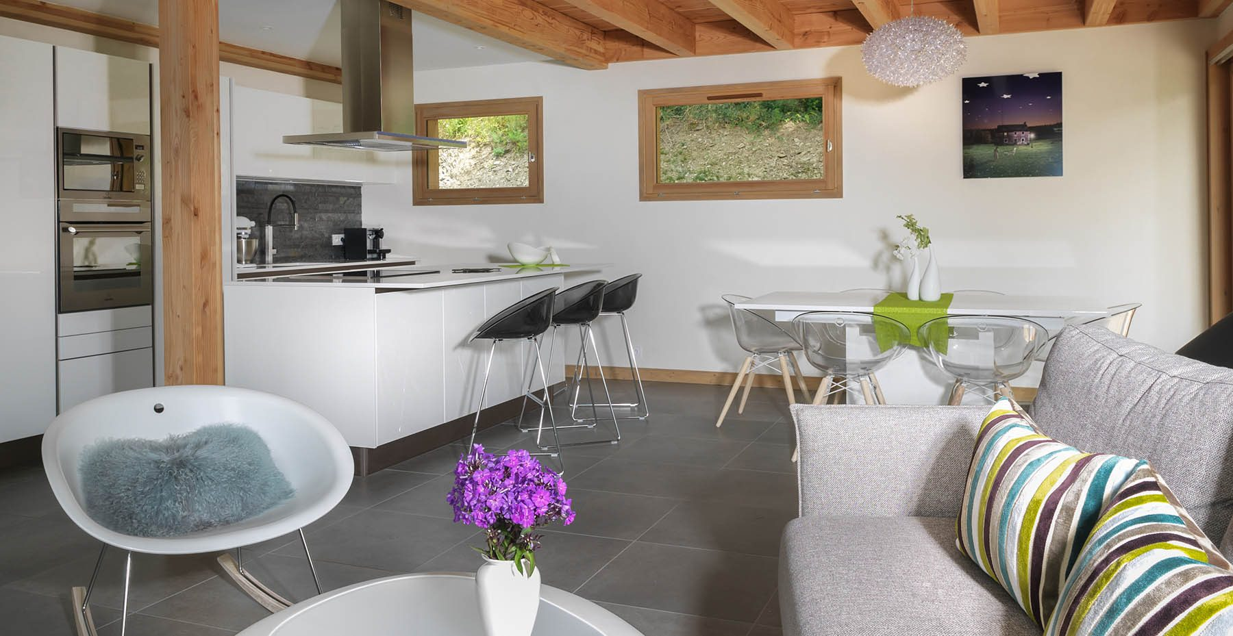 Domaine do Coudree Example Open Plan Kitchen