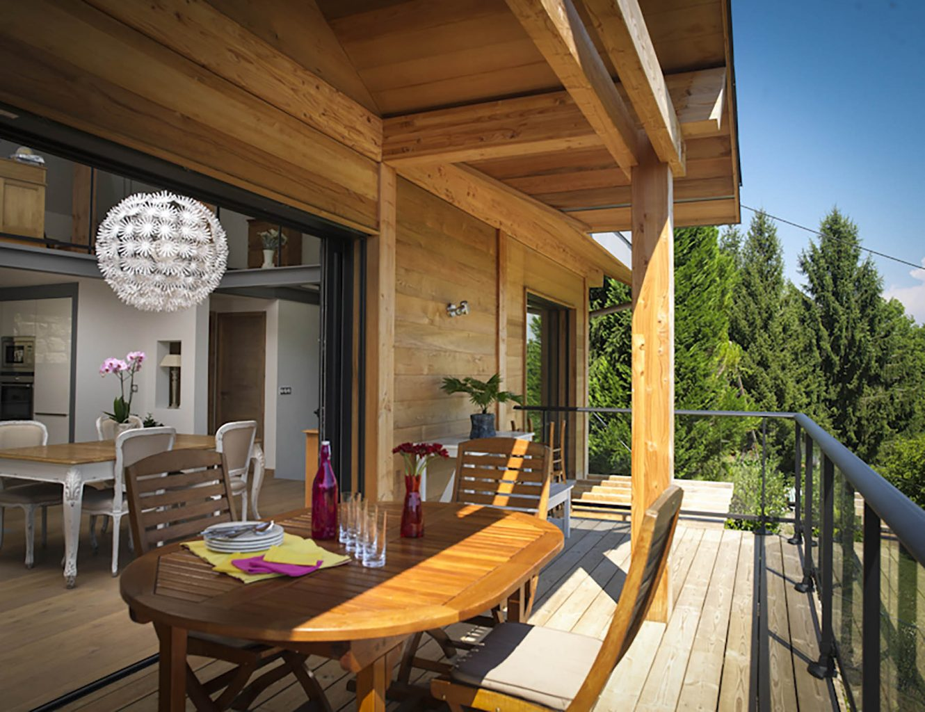 Domaine do Coudree Example Decking