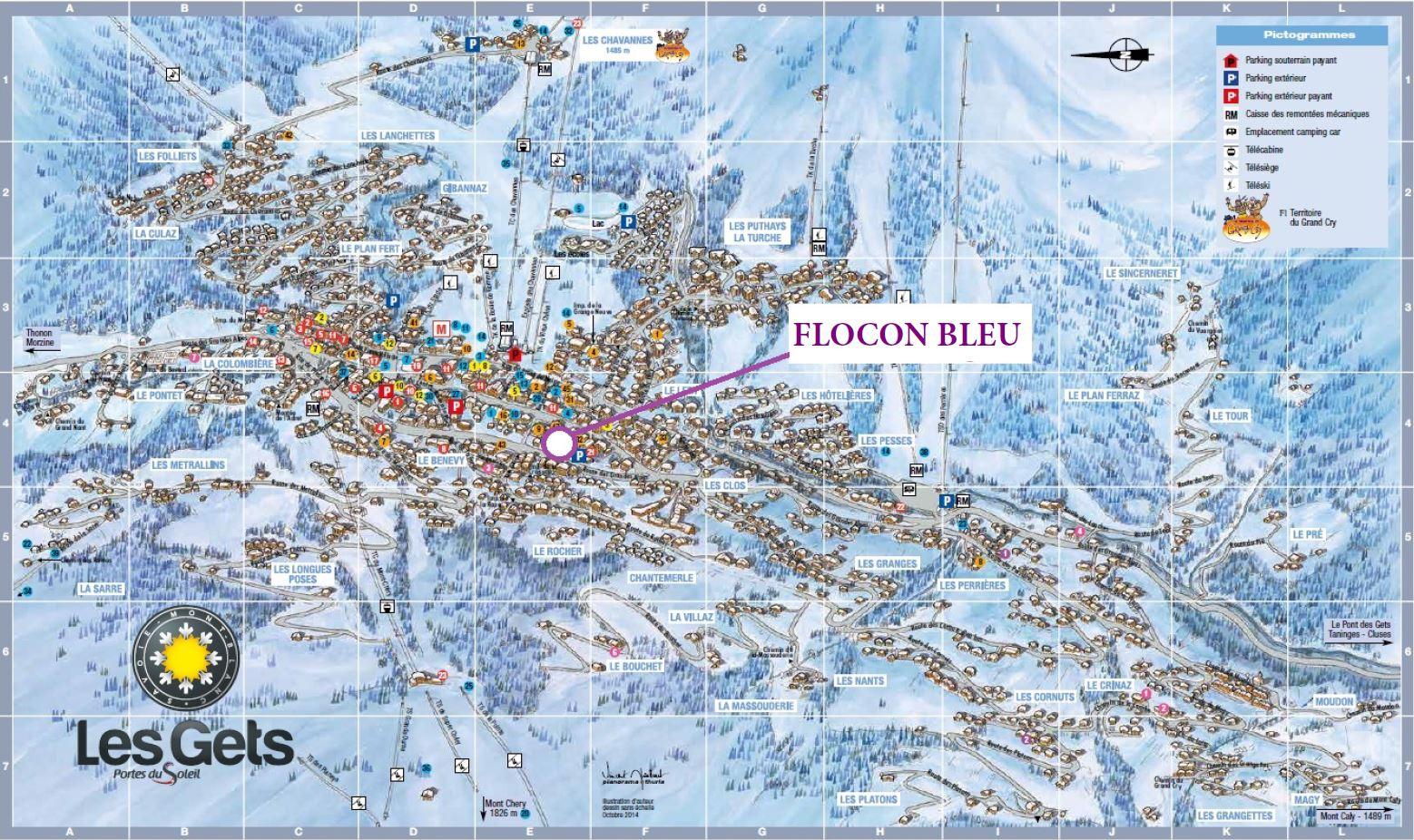 Flocons Location