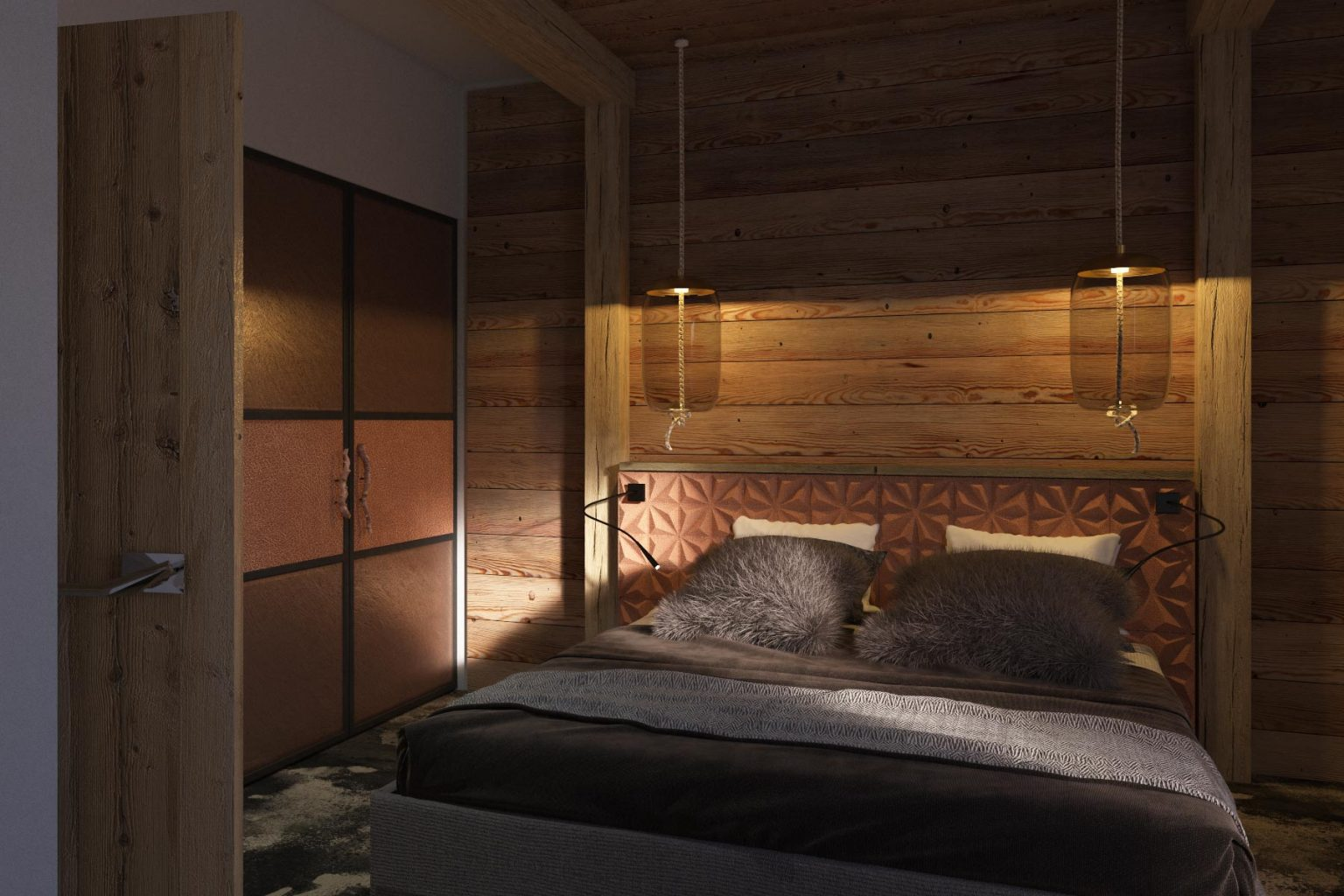 Chalet Aspen Appts Bedroom