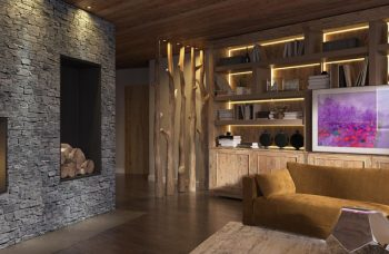 Chalet Aspen Appts Example lounge