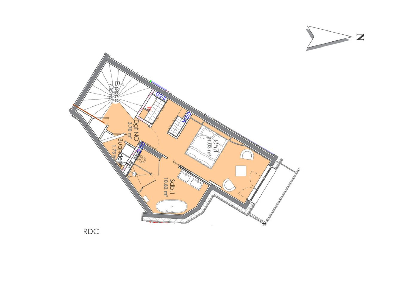 Chalet Aspen Appts Floor Plan 2