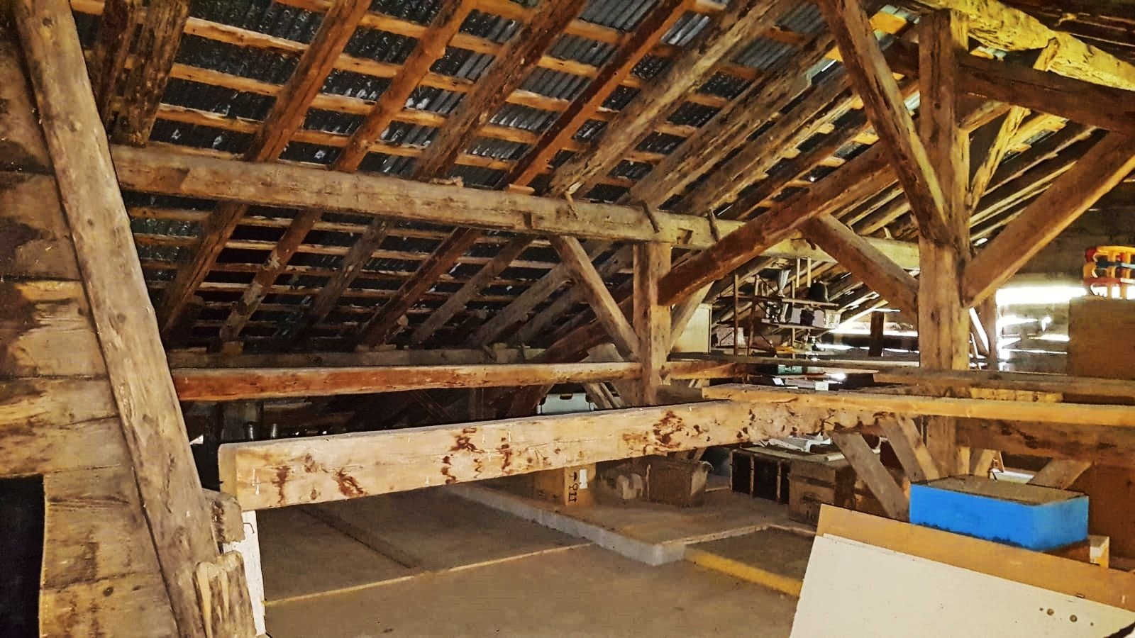Massouderie Farm Attic