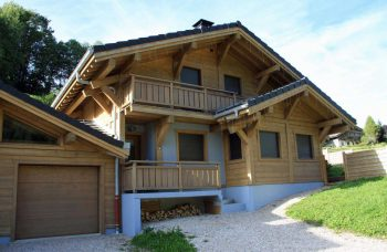 Perrieres chalet 758 Front elevation